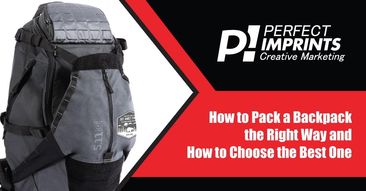 Custom Backpacks - How to Pack