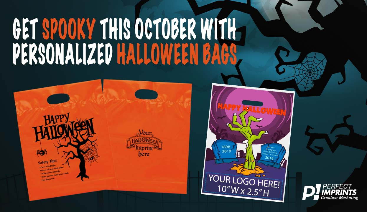 Get Spooky This October with Personalized Halloween Bags