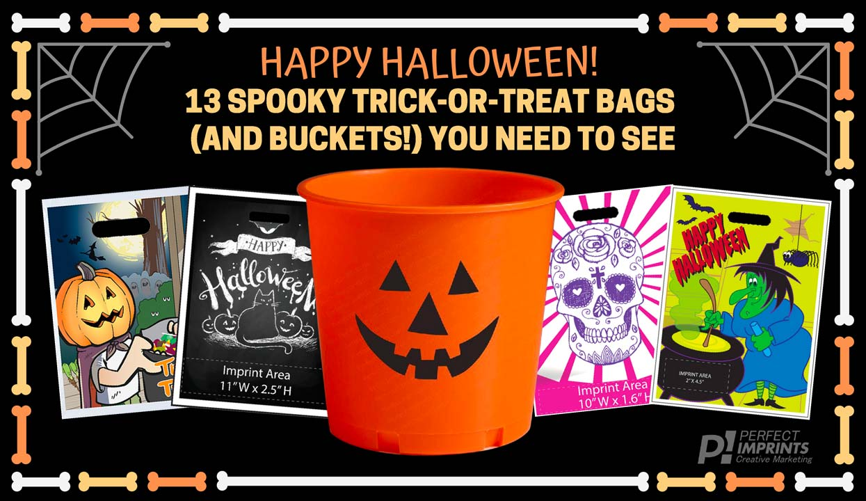 Happy Halloween! 13 Spooky Trick-or-Treat Bags (and Buckets!) You Need to See