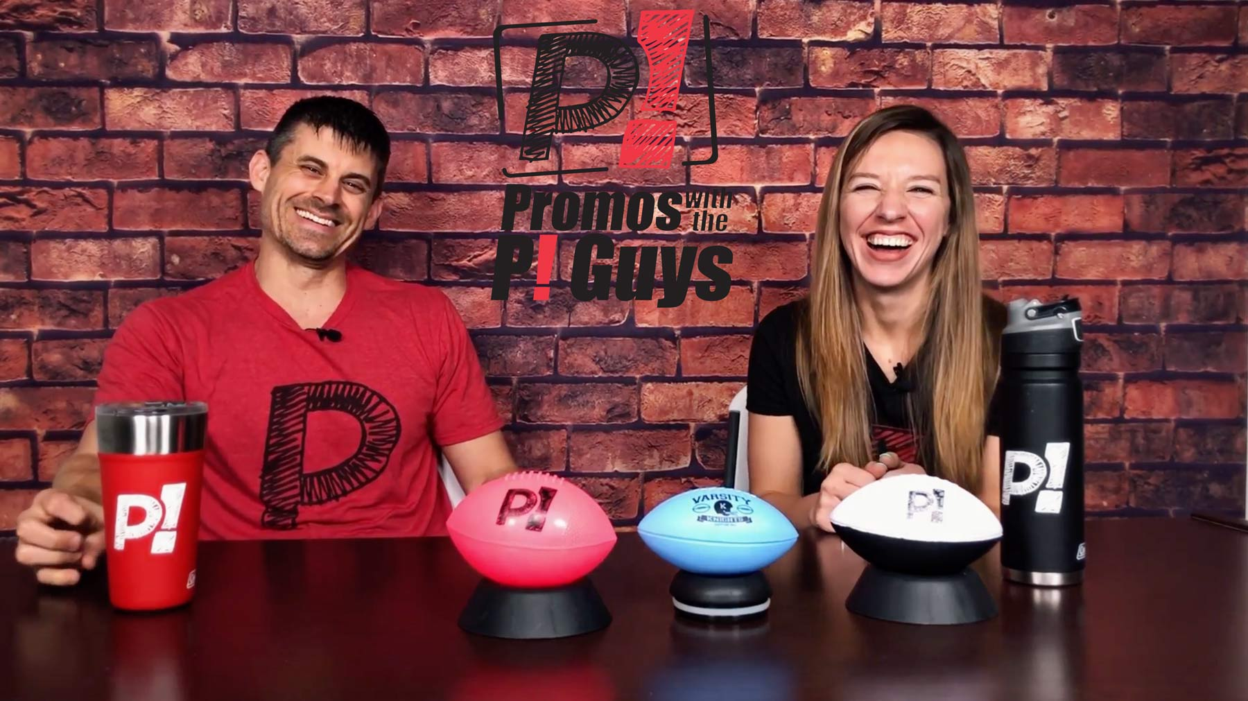 Promos With the P! Guys – Episode 31 – Custom Mini Footballs
