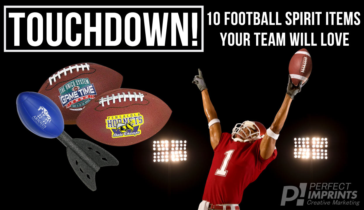 Touchdown! 10 Football Spirit Items Your Team Will Love