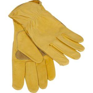 Custom Leather Work Gloves