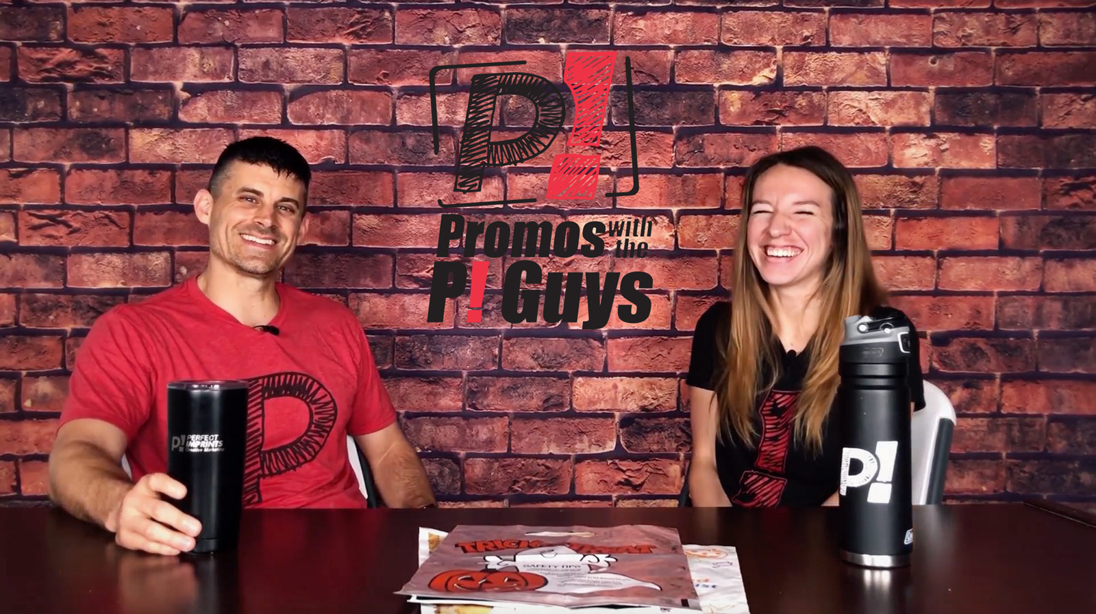 Promos With the P! Guys – Episode 29 – Halloween Trick or Treat Bags