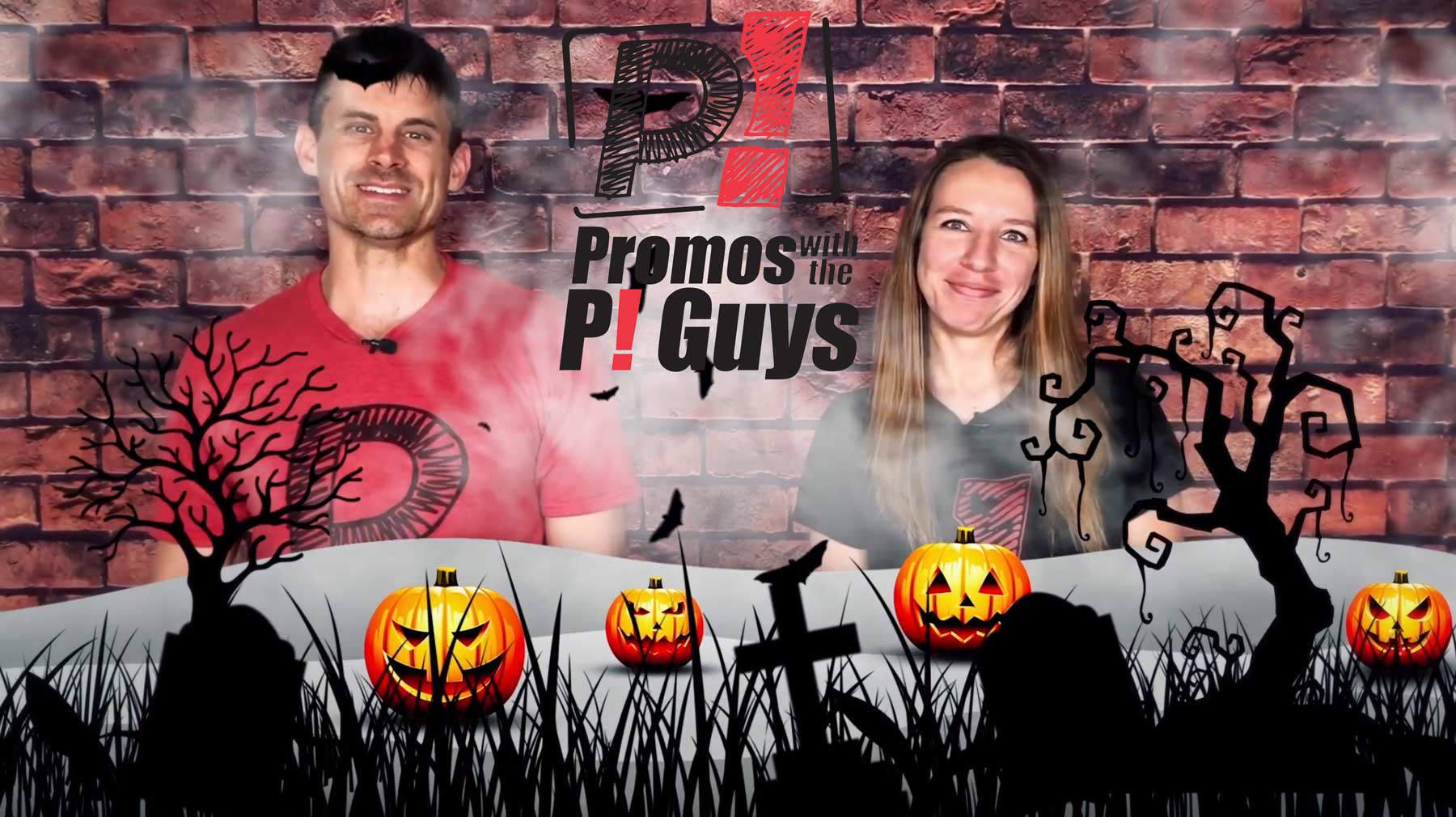 Promos With the P! Guys – Episode 30 – Halloween Candy Buckets