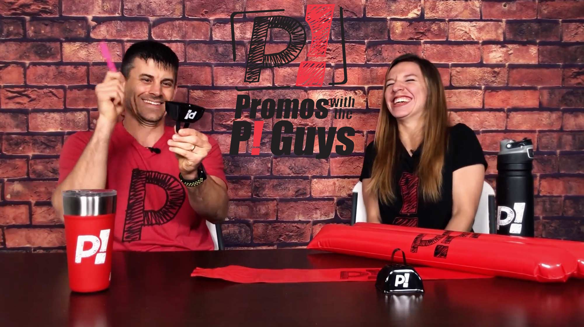 Promos With the P! Guys – Episode 32 – Thundersticks Noisemakers