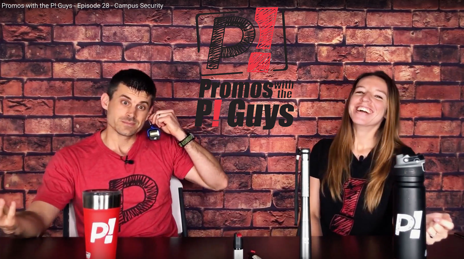 Promos with the P! Guys - Episode 28 - Campus Safety Items