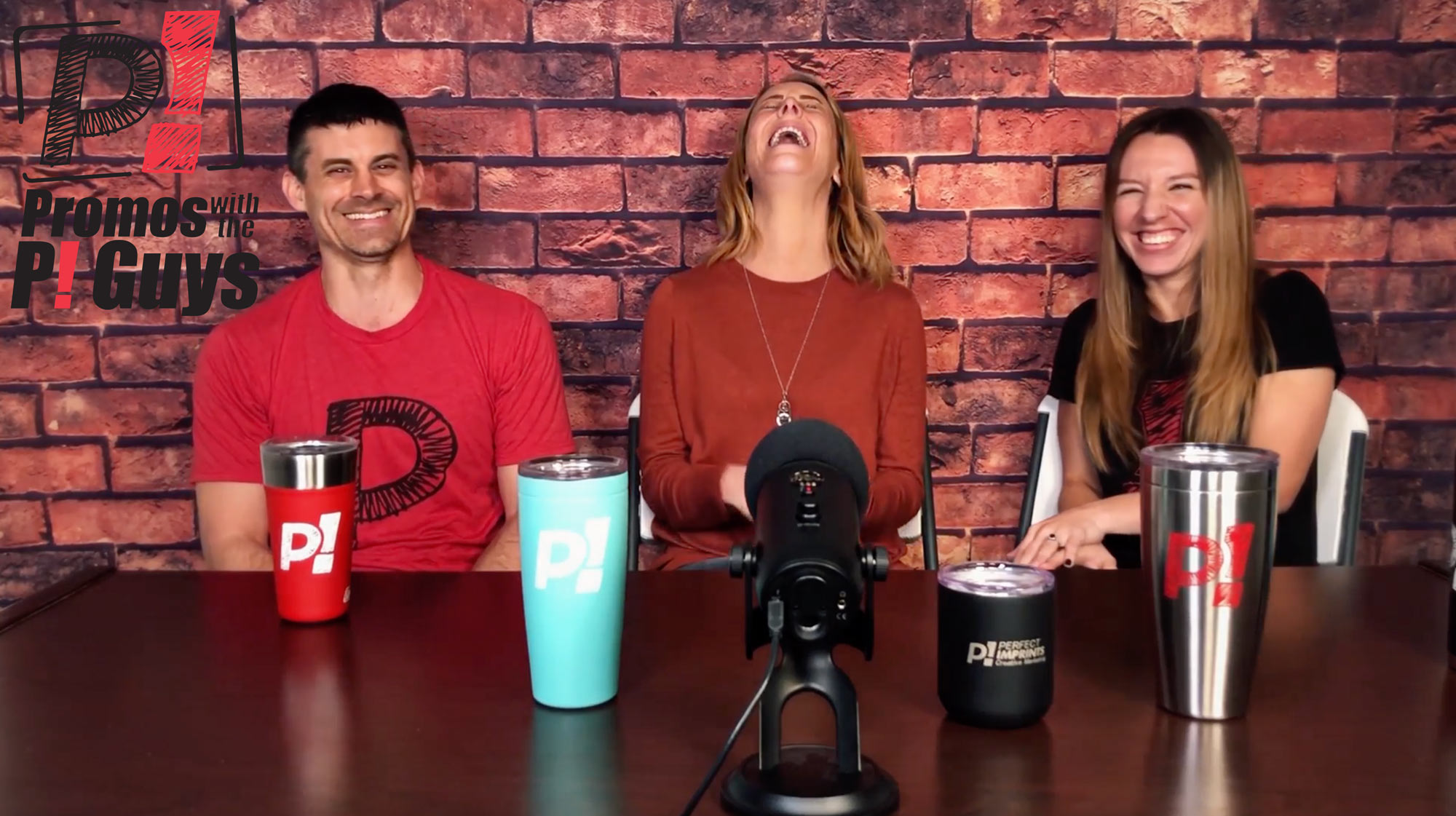 Promos with the P! Guys - Episode 35 - Custom Vacuum Insulated Stainless Steel Tumblers