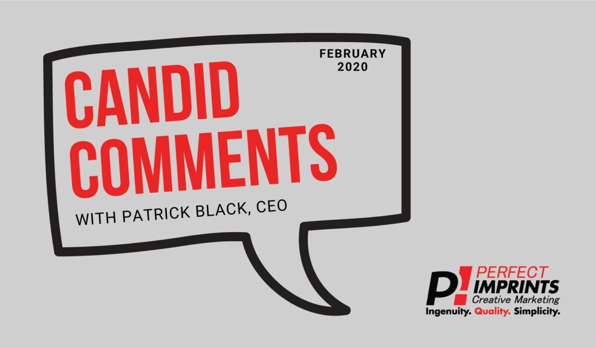 Candid Comments February 2020