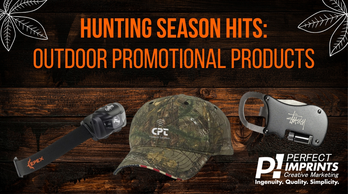 Hunting Season Hits: Outdoor Promotional Products