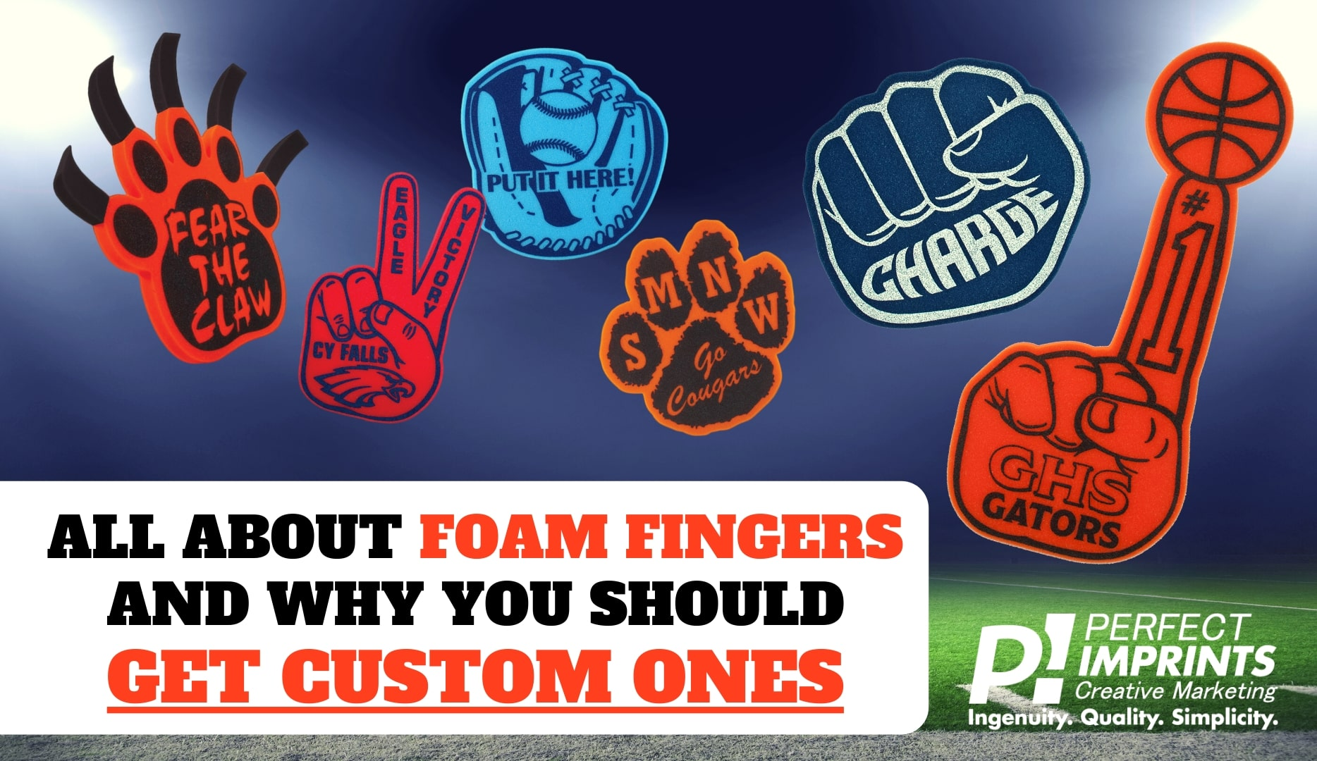 All About Custom Foam Fingers and Why You Should Get Them