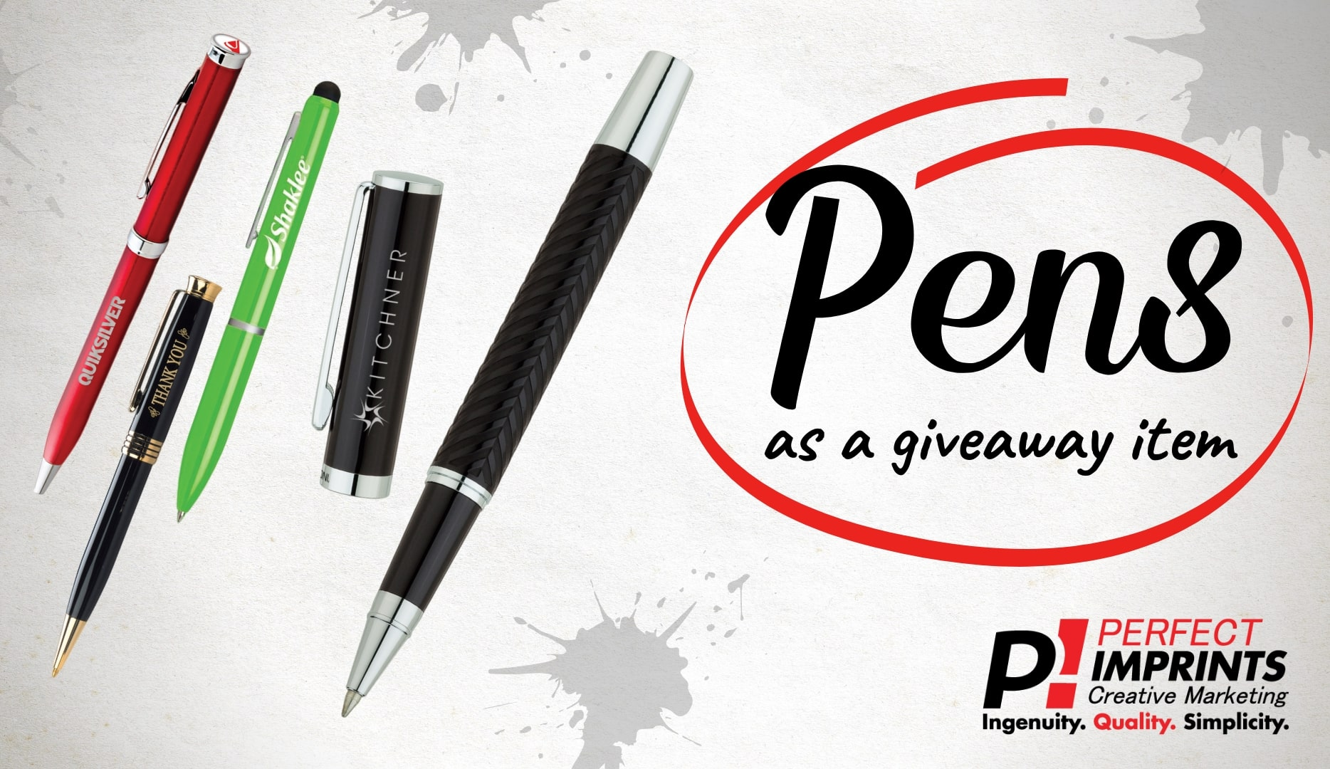 Don't let your Promotional Pen Spread Germs!