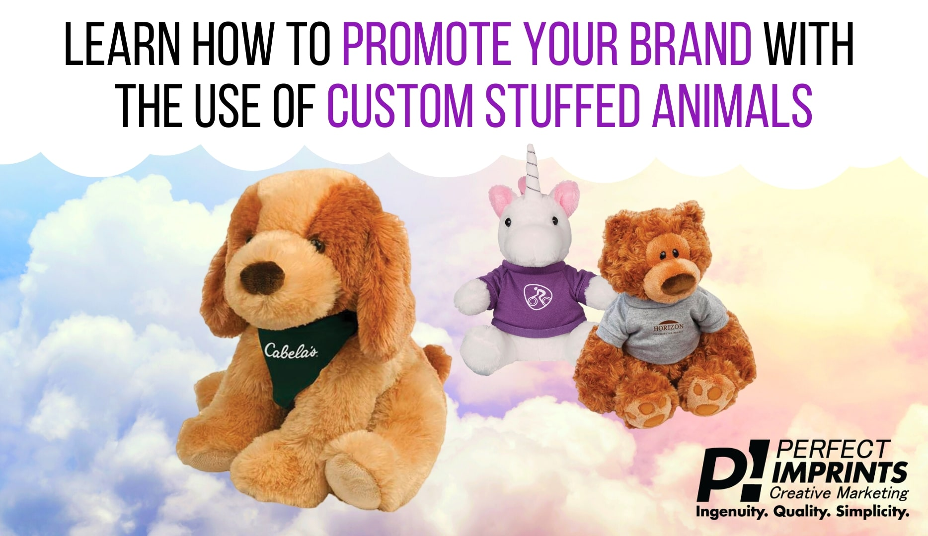 Use Custom Stuffed Animals To Promote Your Brand