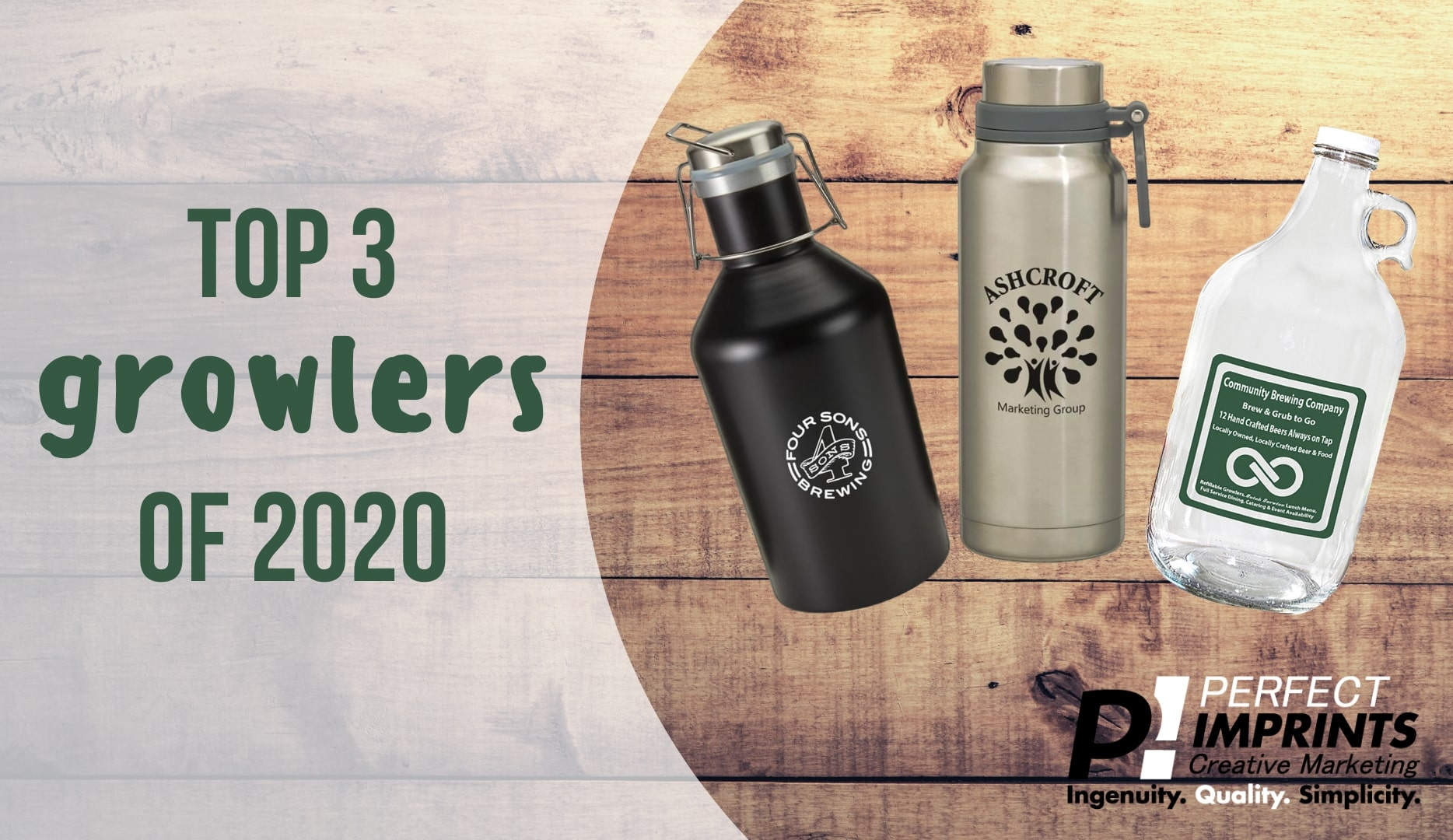 Top 3 Branded Growlers of 2020