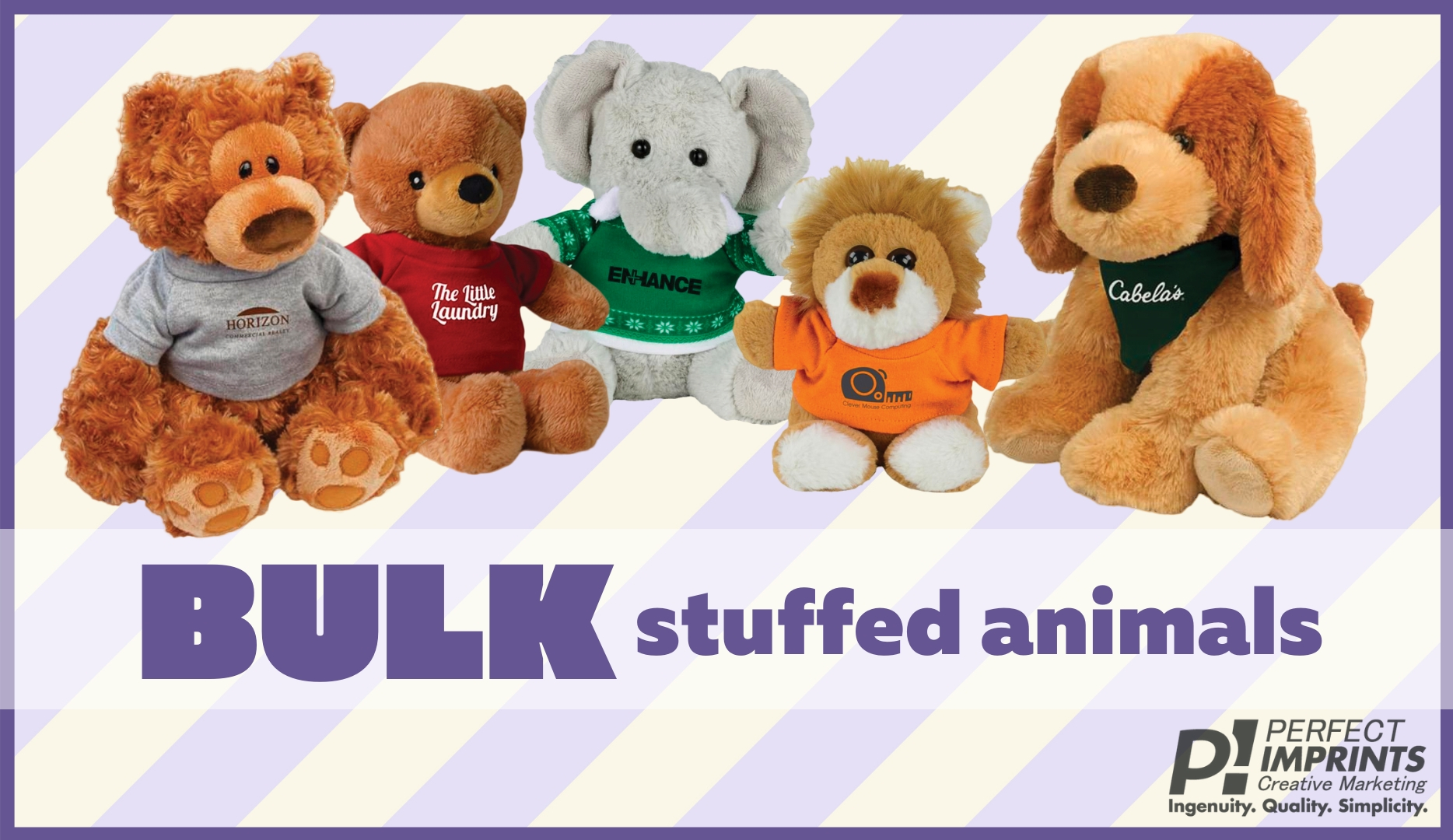 10 Reasons to Giveaway Promotional Stuffed Animals in Bulk