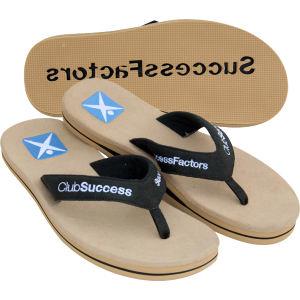 Custom flip flops | beach promotional items