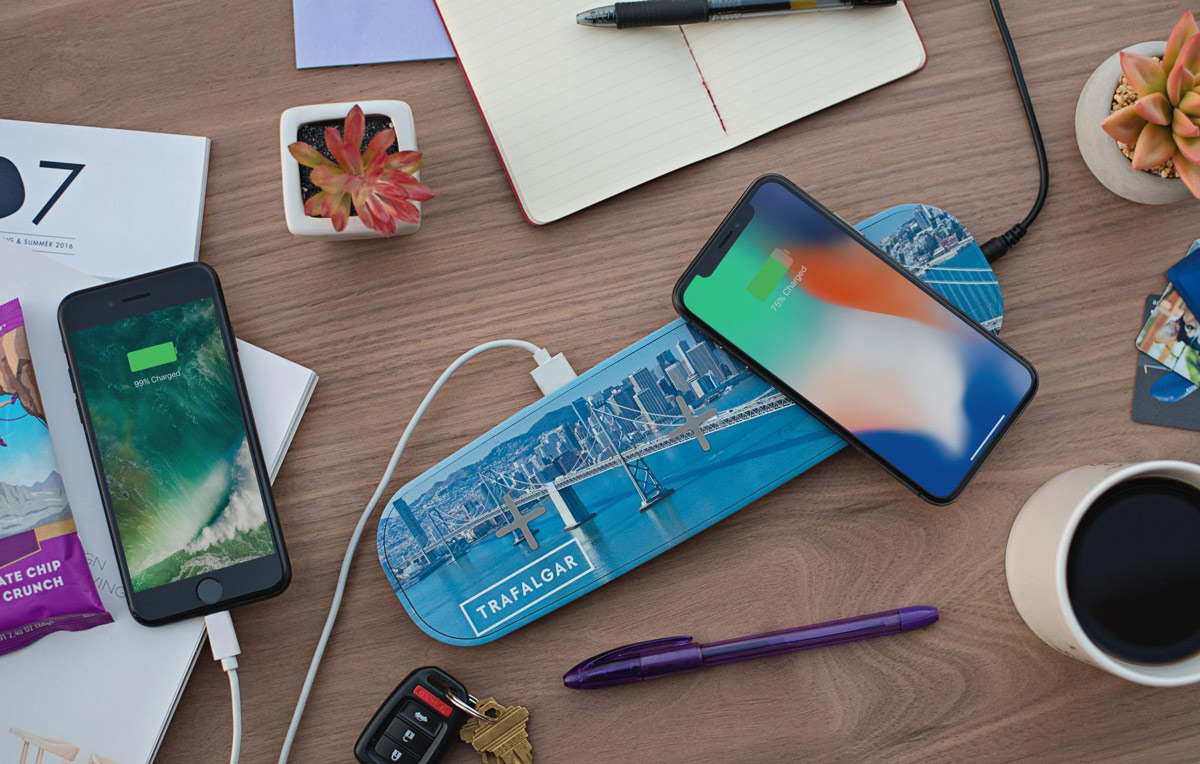 Custom Qi Wireless Chargers - Promotional Qi Charging Pads